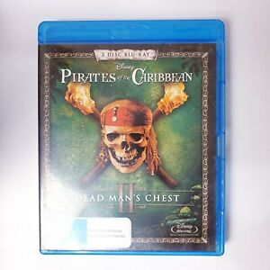 Pirates Of The Caribbean 2 Dead Mans Chest Bluray Movie - Free Postage Blu-ray