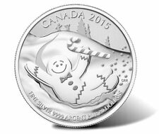 Canada 2015 GINGERBREAD man with candy UNC blister Ag proof $20 #19