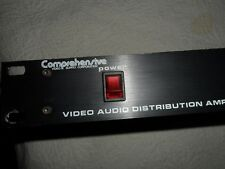 Comprehensive Video Audio Distribution Amplifier CVA1B-10 RM