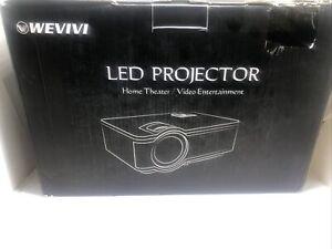 Mini Projector, Wevivi 2021 Upgraded Full HD WiFi Projector, 1280x720P