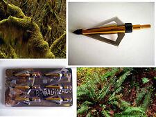12x100gr Gloden Lightning 3 blade broadhead,Arrow head for compound / cross bow