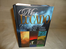 MAX LUCADP BOOKS - 3 BOOKS IN ONE-IN THE EYE OF THE STORM-HE STILL MOVES STONES