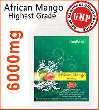 FINN & BRIT TOP STRENGTH 60 African Mango Weight Loss Diet Slimming Pills