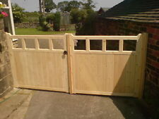 COTTAGE STYLE DRIVEWAY GATES MADE TO YOUR REQIUREMENTS