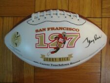 94 Authentic SF 49ers Jerry Rice WILSON Football SIGNED