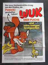 WUK DER FUCHS - Attila Dargay - Filmplakat A1 - KINDER - Ungarn