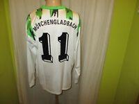 Borussia Mönchengladbach asics Langarm DFB-Pokal Sieger Trikot 1995 + Nr.11 Gr.M