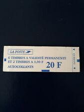 carnets Marianne de LUQUET N°1508 TVP autocollants - daté - COTE 22 €  + date