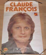 Affiche  CLAUDE FRANCOIS Disques Fleche