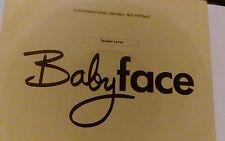 "babyface tender lover 7"" single advanced dj copy promo"