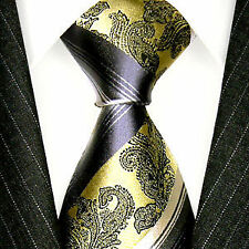 Cravates, nœuds papillon et foulards vert pour homme en 100% soie