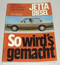 Reparaturanleitung VW Jetta I / 1 Diesel mit 1,6 liter / 54 PS