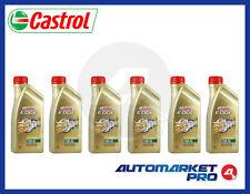 6 LITRI OLIO MOTORE CASTROL EDGE 10W60 FST TITANIUM A3/B4 BMW 04 VW 50500 50501