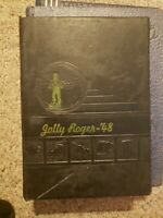 1948 LYTLE HIGH SCHOOL YEARBOOK LYTLE, TEXAS JOLLY ROGER SCHOOLS 1ST YEARBOOK