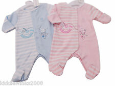 Nevo CON ETIQUETA Bebé Pequeño Prematuro Preemie Baby 100% Algodón Body Romper