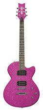 Daisy Rock Rock Candy Standard Atomic Pink E-Gitarre