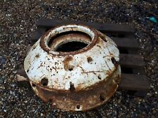 Tractor  rear wheel weights pair   used
