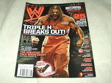 WWE Wrestling Magazine June 2008 Triple H