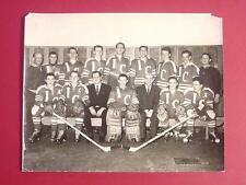 RARE Guy LaPointe Canadiens as a YOUTH  8x10 Team Photo VINTAGE
