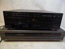 New listing Vtg Jvc Hr-D930U Hi Fi Vcr Tape Recorder & Sony Cdp-C312M 5 Cd Changer Player
