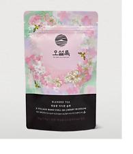 OSULLOC Pyramid Bag JEJU Cherry Blossom Flavored Blended Red Tea Organic 20EA
