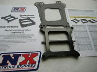 NX/NITROUS EXPRESS NP304 STAGE 6 NITROUS PLATE KIT HOLLEY 4150 50-300HP-AS SHOWN
