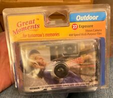Vintage Great Moments Outdoor 35mm One Time Disposable Camera Color Film