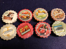 Yankee Candle Tarts lot 8 Seasonal and Retired/Discontinued Scents