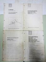 Index S3 GS30 GE42-65 Beschreibung Bedienungsanleitung Fräsmaschine Drehmaschine