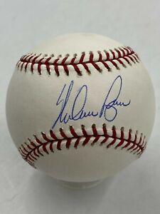 Nolan Ryan HOF Signed Official Rawlings Baseball AUTO Mounted Memories COA