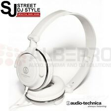 Audio Technica ATH-SJ11 WH STREET DJ STYLE Headphone White ** New **