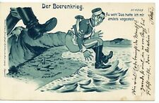 ANGLO-BOER WAR german ant-British pc Booting out of Durban - message no pmks