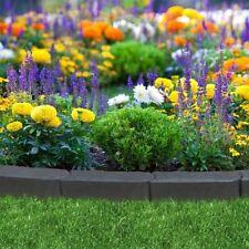 Stomp Edging Rubber Garden Border Gardening Feature Pack of 6