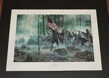 Mort Kunstler -  The Hero Of Little Roundtop - Hand Signed - Civil War Print