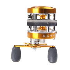 Golden Full Metal 2+1BB Ball Bearings Right Hand Drum Wheel Fishing Reel CL40 TM