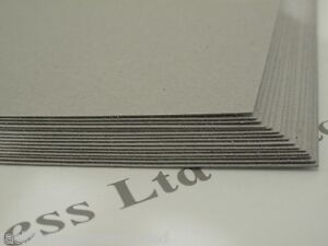 15 x A4 Greyboard Craft Card 700 Micron Modelling/Mounting Backing Board Crafts