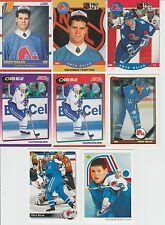 20 + different OWEN NOLAN cards lot 2 RC 1990 - 2000 Nordiques Sharks