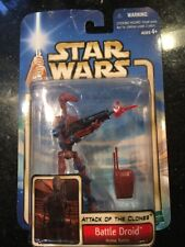 Star Wars Attack Of The Clones Red Battle Droid Variant Arena Battle New Wear