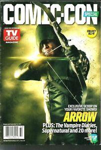 TV GUIDE-2013-ARROW-STEPHEN AMELL-SUPERNATURAL-THE VAMPIRE DIARIES-NIKITAV