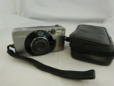 Canon Sure Shot 105 Zoom Compact 35mm Camera - Silver/Black - Case