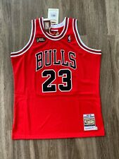 100% Authentic Michael Jordan Mitchell Ness 1997-98 Finals Chicago Bulls Jersey