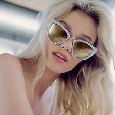 "NEW QUAY AUSTRALIA Pearl/Gold ""MY GIRL"" Retro Cat Eye Sunglasses - SALE"