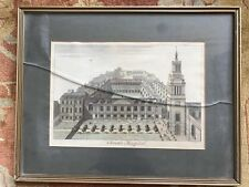 Antique Christ's Hospital London Etching