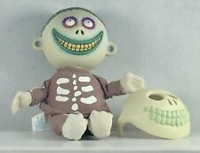 The Nightmare Before Christmas Barrel Bean Bag Doll w/Mask Applause Used