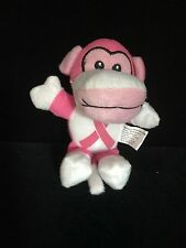 Breast Cancer Plush Pink Ribbon Breast Cancer Awareness Monkey FREE SHIP