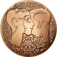 Médailles étrangères en bronze
