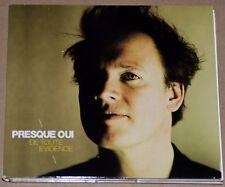 ALBUM CD - PRESQUE OUI - DE TOUTE EVIDENCE - 2015 - ETAT NEUF