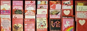 34 Lot Hallmark Signature VALENTINE'S DAY Cards Assorted 33 Designs FAMILY