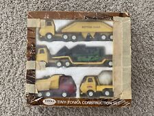 1972 Tiny Tonka Construction Set #822 in original box pressed steel vintage