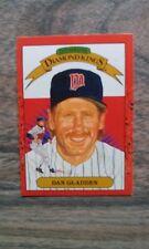 DAN GLADDEN BASEBALL CARD TWINS DONRUSS DIAMOND KINGS OF LEAF 1990 #22